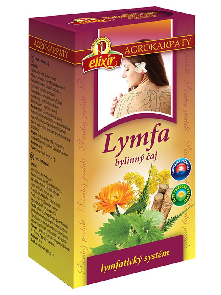 Agrokarpaty LYMFA bylinný čaj 20x2g