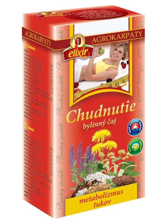 Agrokarpaty na chudnutie bylinný čaj 20x2g
