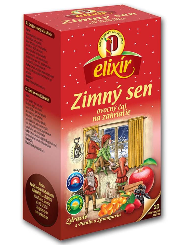Agrokarpaty Elixír Zimný sen 20x2g