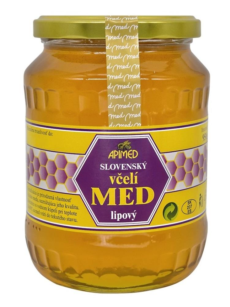 Apimed lipový včelí med 950g
