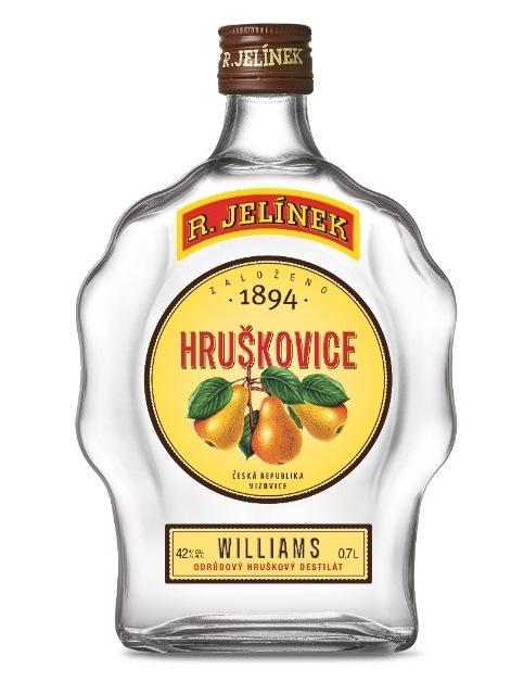 Hruškovica WILIAMS Jelínek 42% 0,7L