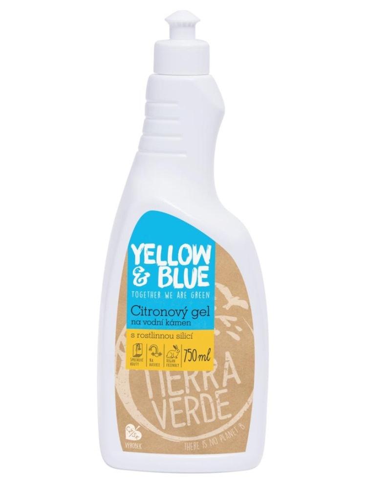 Tierra Verde citrónový gél na vodný kameň - fľaša 750ml