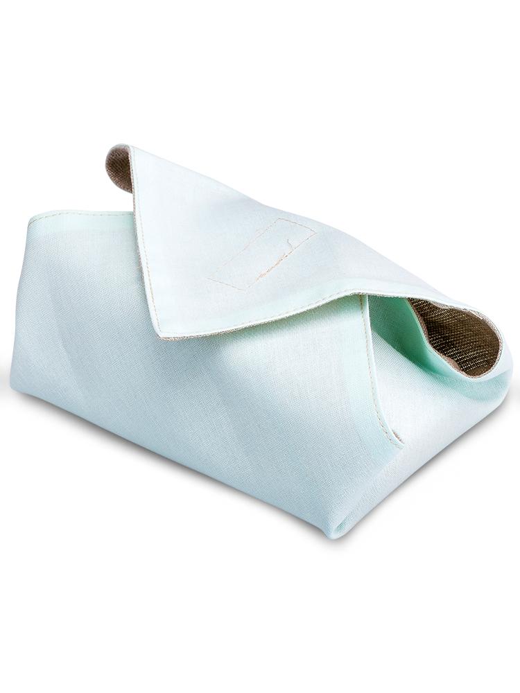 Desiatový obrúsok - svetlo zelený - 30x30cm