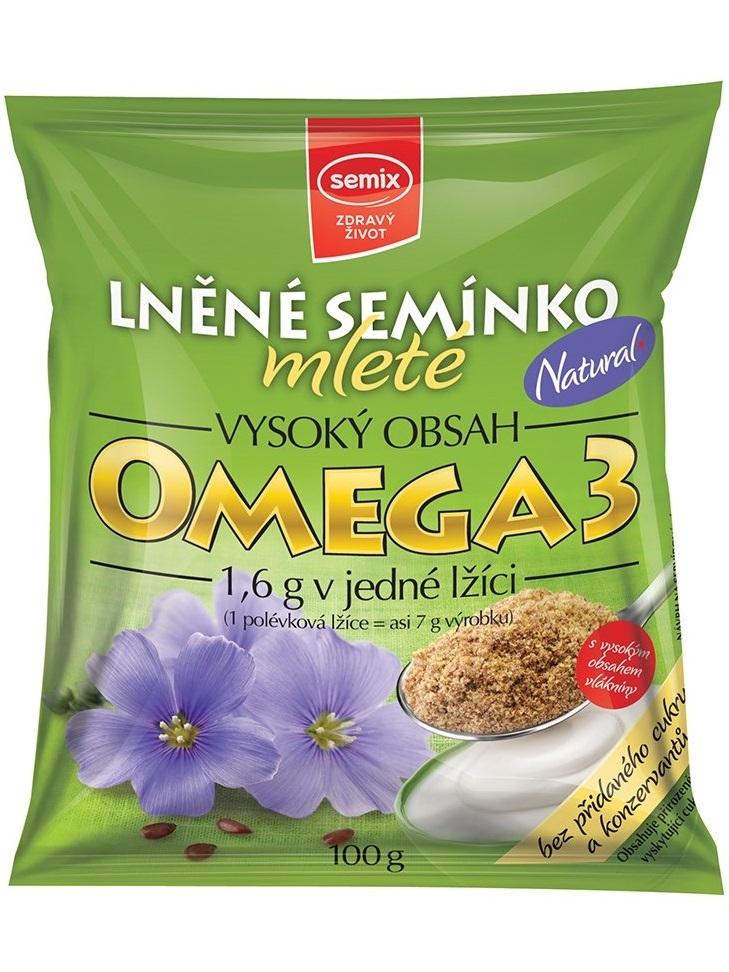 SEMIX Ľanové semienko mleté 100 g