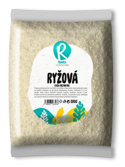 RAVITA Instantná ryžová kaša 200g