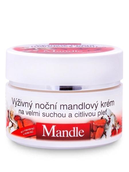 Bione Cosmetics - Výživový nočný pleťový krém Mandle 51ml
