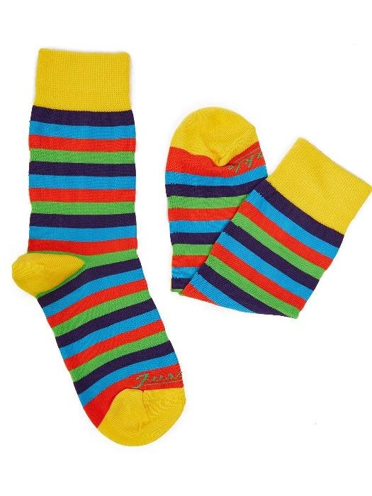 Fusakle ponožky detský multikulturalista