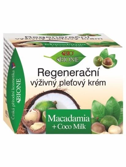 Bione Cosmetics - Regeneračný výživný pleťový krém Macadamia 51ml