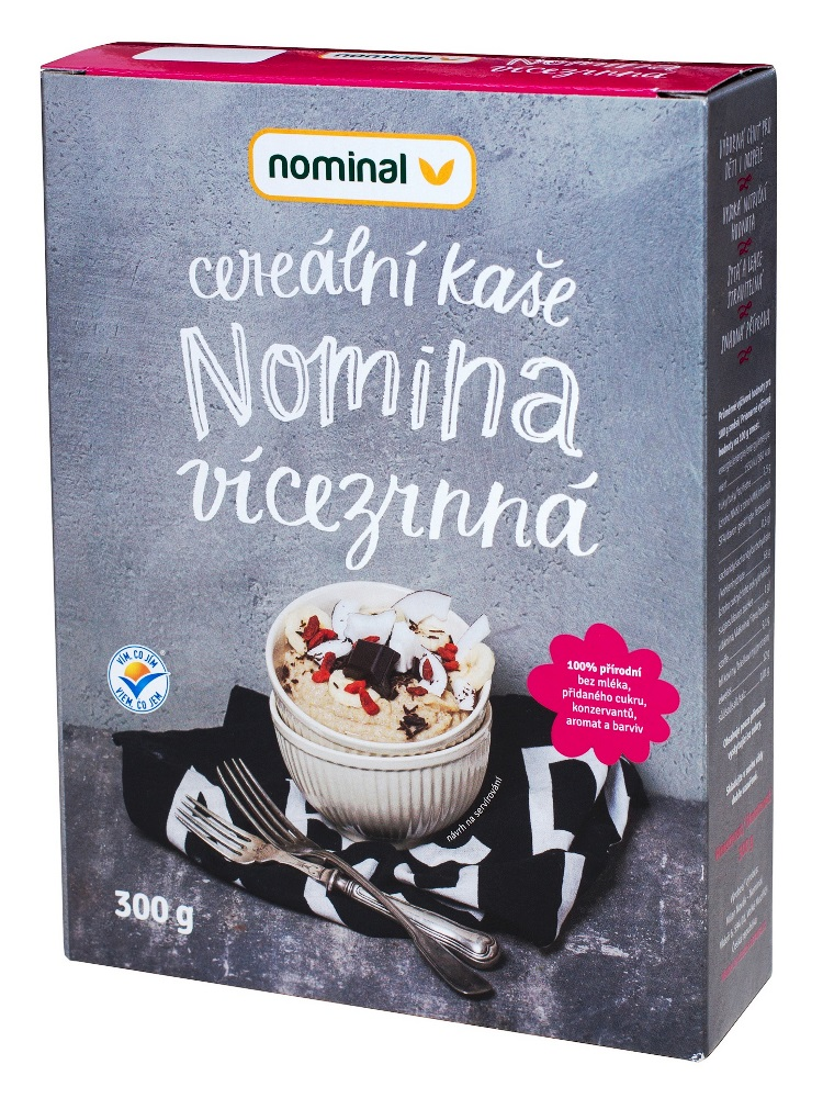 Nominal Cereálna viaczrnná kaša NOMINA 300g