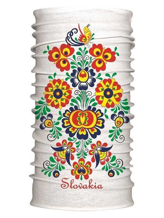 Multifunkčný šál Slovakia kvet 7172