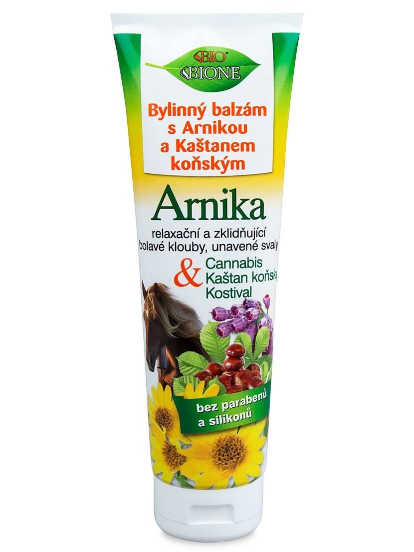 Bione bylinný balzam s pagaštanom konským a arnikou 300ml