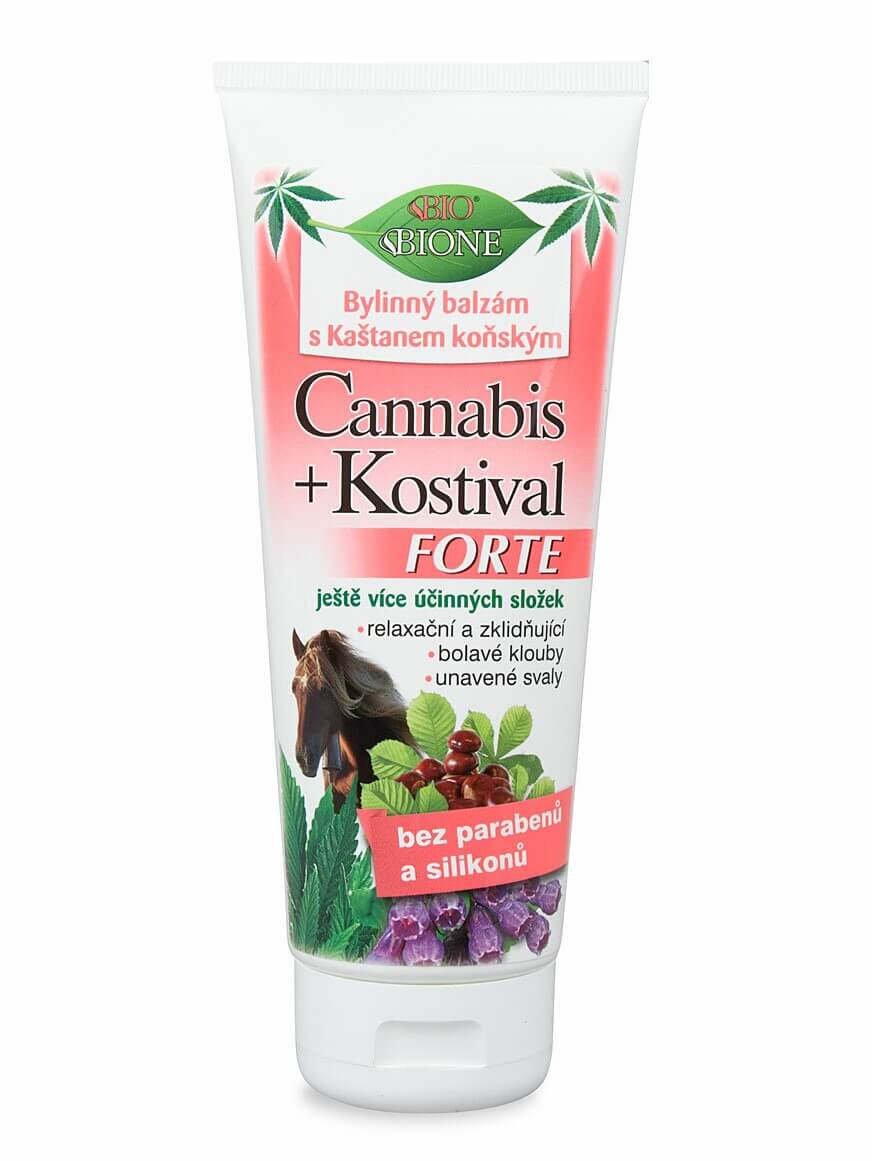 Bione Cosmetics - Bylinný balzám Cannabis s pagaštanom konským Hrejivý 200ml