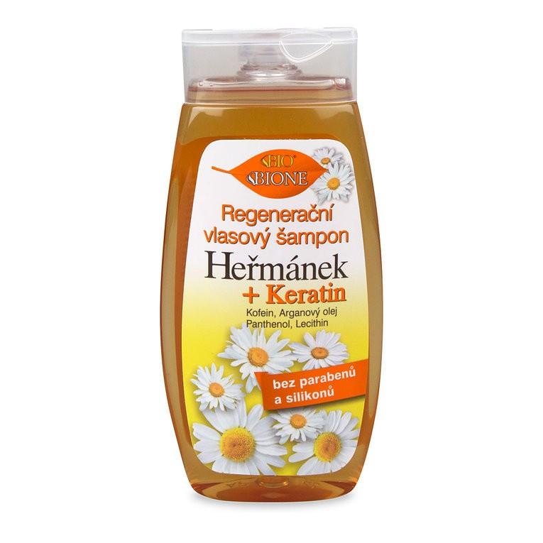 Bione Cosmetics - Regeneračný vlasový šampón Harmanček 260ml