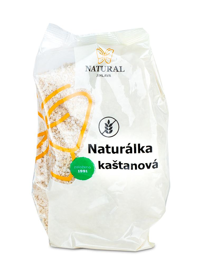 NATURAL JIHLAVA Naturálka gaštanová instantná kaša 200g
