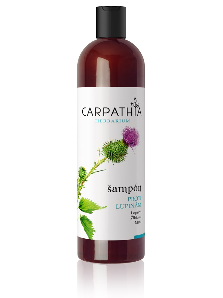 CARPATHIA Šampón proti lupinám 350 ml