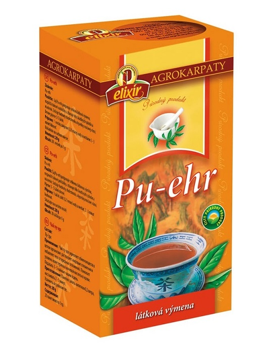 Agrokarpaty pu erh čaj 20x1g