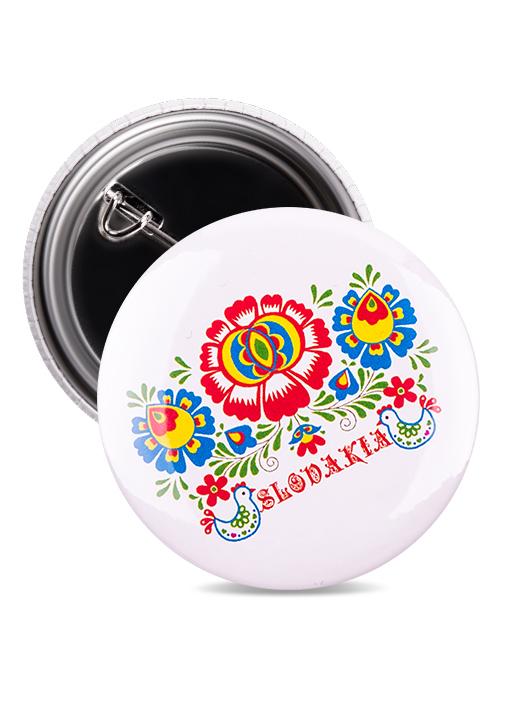 Odznak Slovakia kvet