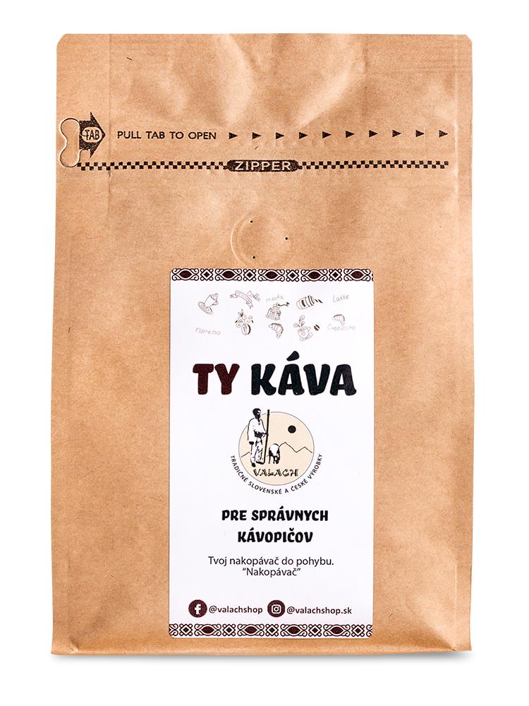 Ty káva 80% Arabica 20% Robusta 250g