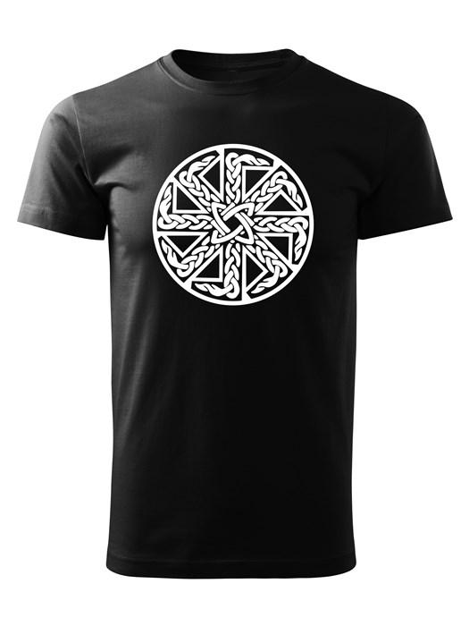 Tričko kolovrat 15 Unisex Čierne