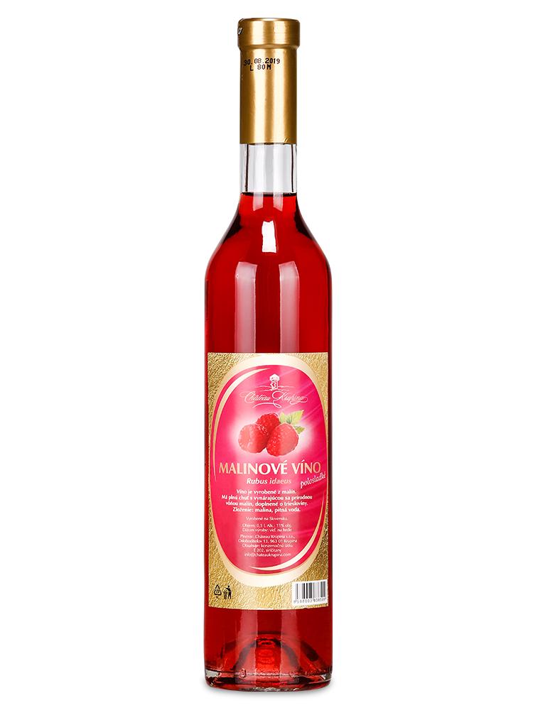 Malinové víno Château Krupina 0,5L
