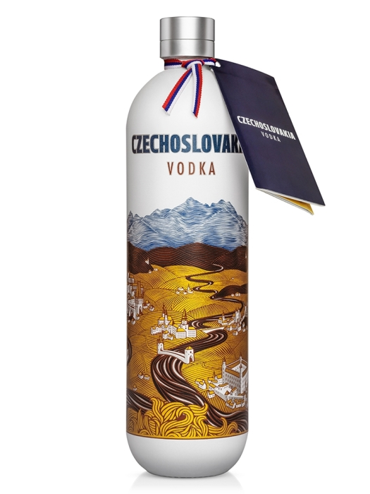 Czechoslovakia vodka 40% 0,7l