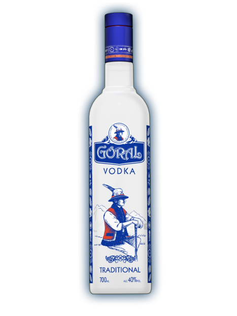 Goral traditional vodka 40% 0,7l