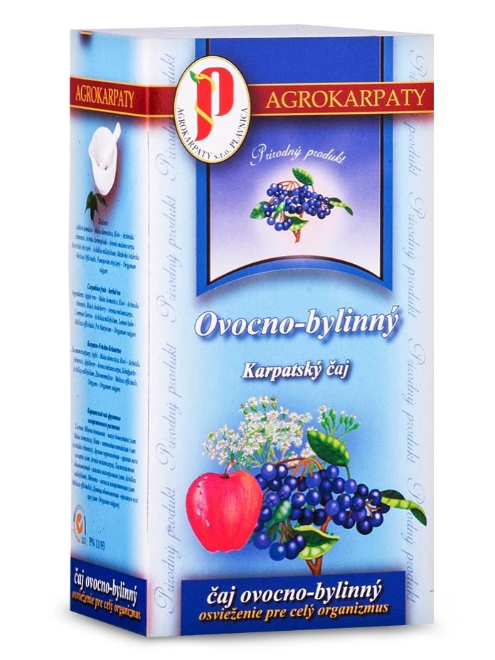Agrokarpaty ovocno bylinný čaj 20x3g