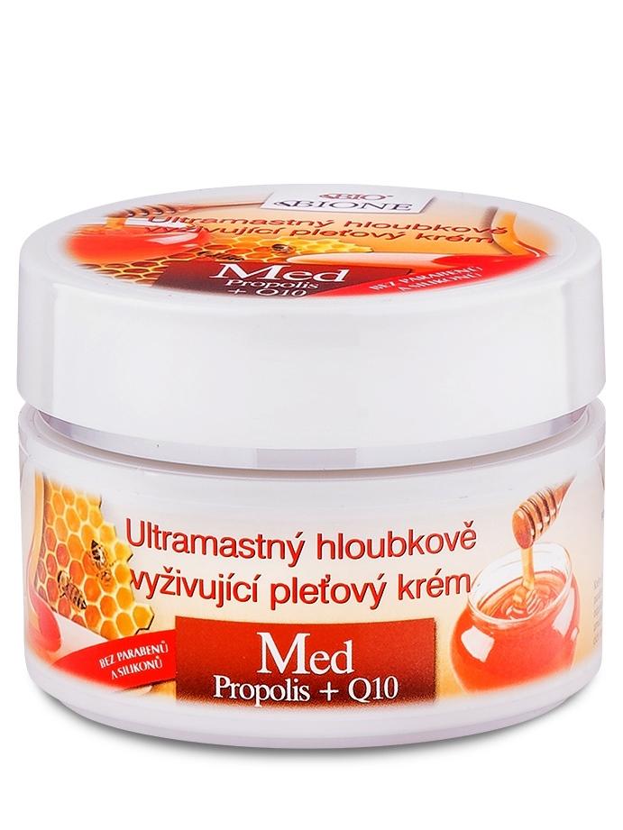 Bione Cosmetics - Ultramastný vyživujúci pleťový krém MED+Q10 51ml