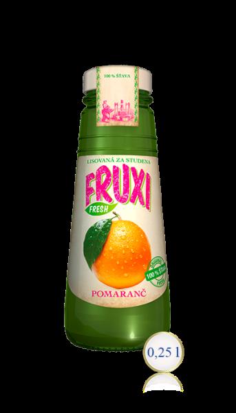 Pomaranč 100% ŠŤAVA 0,25L