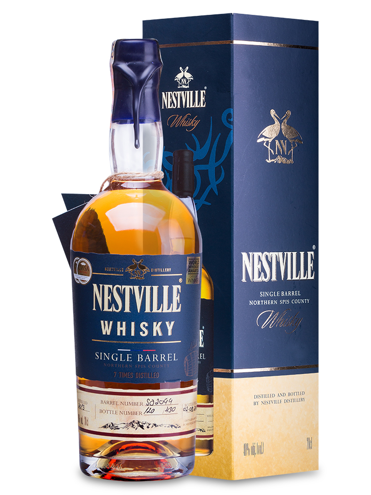 Whisky Nestville Single Barrel 40% 0,7L