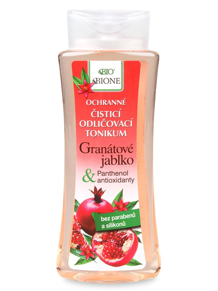 Bione Cosmetics - Odličovacie pleťové tonikum Granátové jablko 255ml