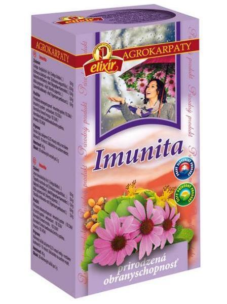 Agrokarpaty imunita bylinný čaj 20x2g
