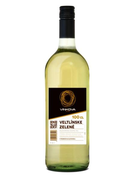 Veltlínske zelené Vinkova 1L