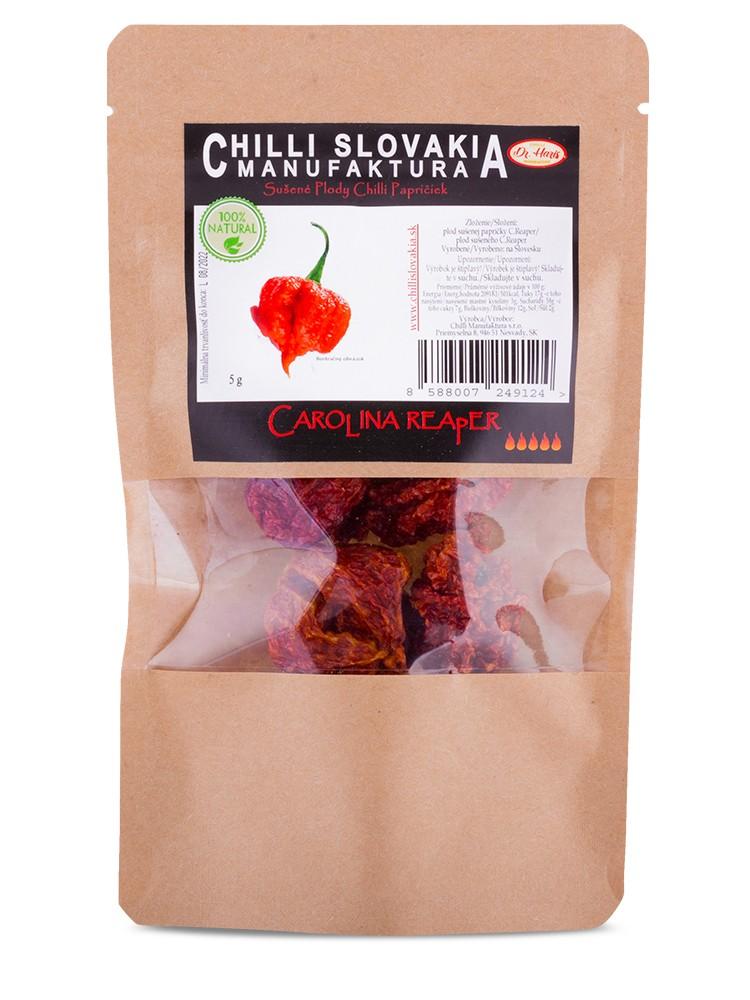 Chilli Manufaktúra Sušené chilli papričky celé Carolina Reaper 5g