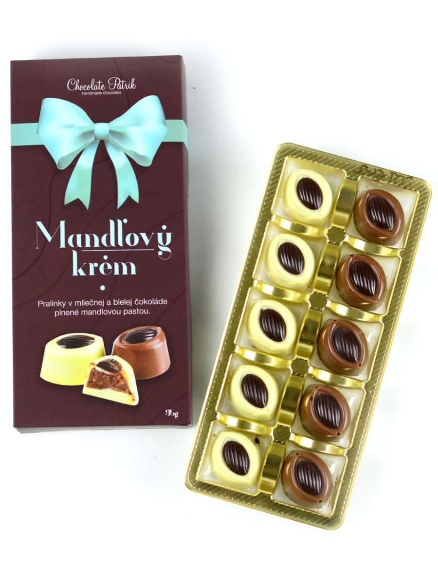 Chocolate Patrik Bonboniéra mandľový krém 95g