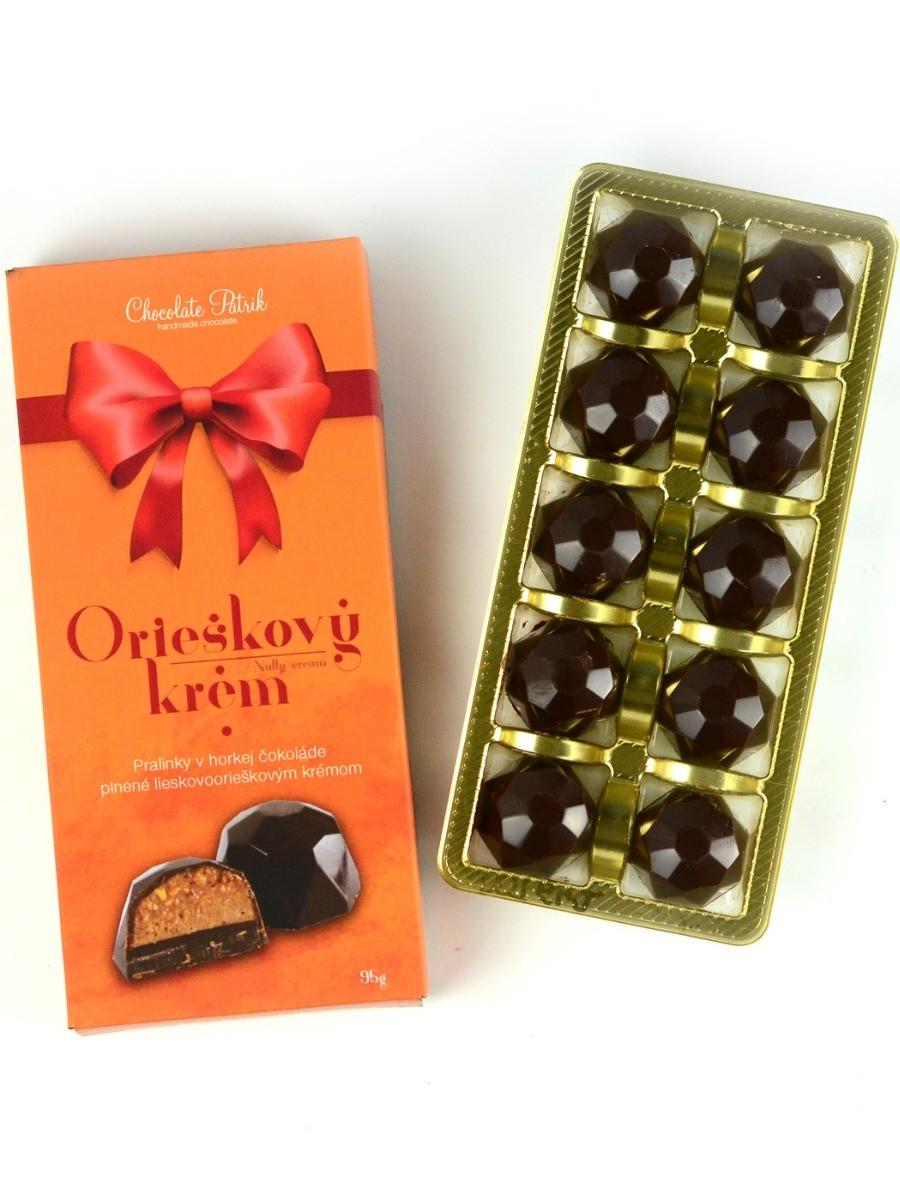 Chocolate Patrik Bonboniéra orieškový krém 95g