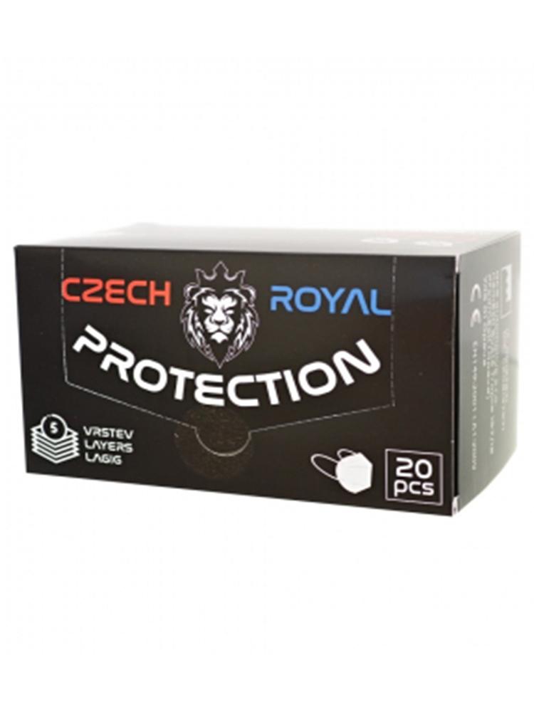 Czech Royal Zdravotnícky respirátor FFP2 biely 20ks