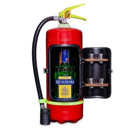 Valach Darčekový hasiaci prístroj minibar BECHEROVKA