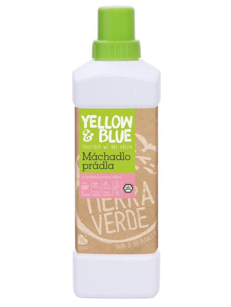 Tierra Verde plákadlo prádla s levanduľovou silicou - fľaša 1L