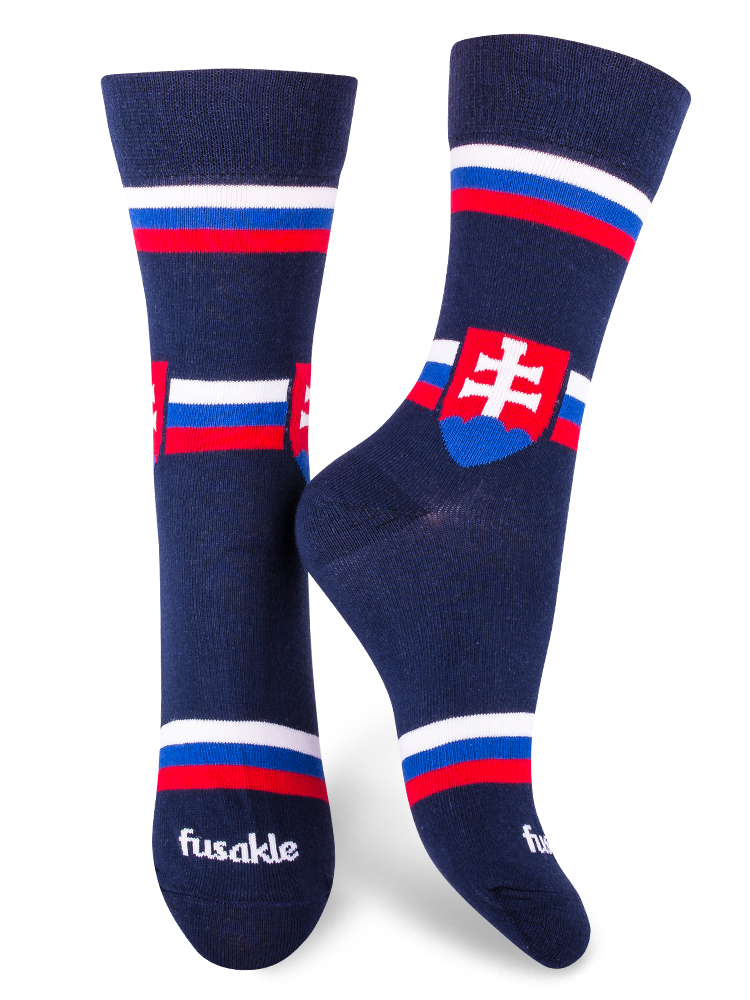 Fusakle ponožky hockey fun Slovensko