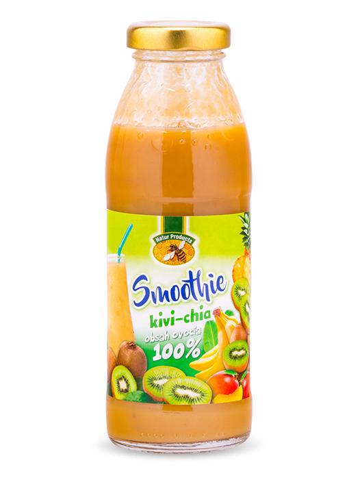 Natur products smoothie kivi - chia 100% 300ml