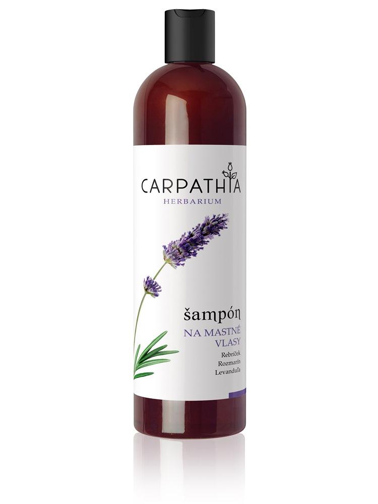 CARPATHIA Šampón na mastné vlasy 350 ml