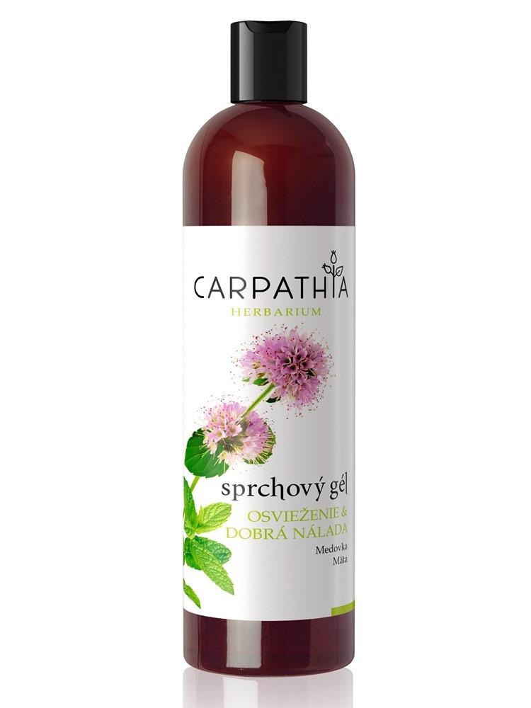 CARPATHIA Sprchový gél osvieženie & dobrá nálada 350 ml
