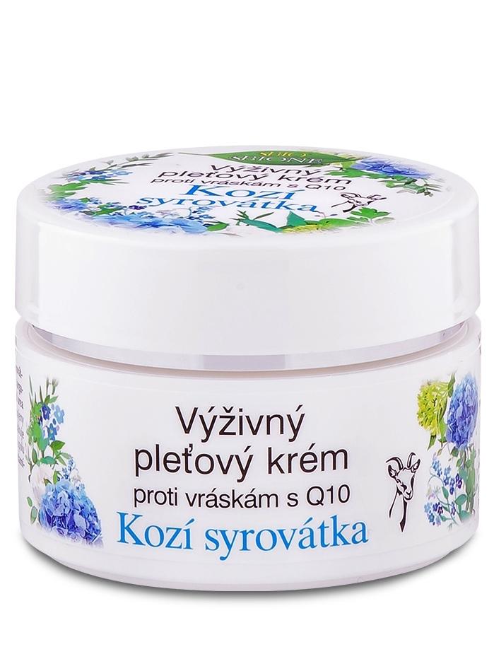 Bione Cosmetics - Výživný krém proti vráskam Kozia srvátka 51ml