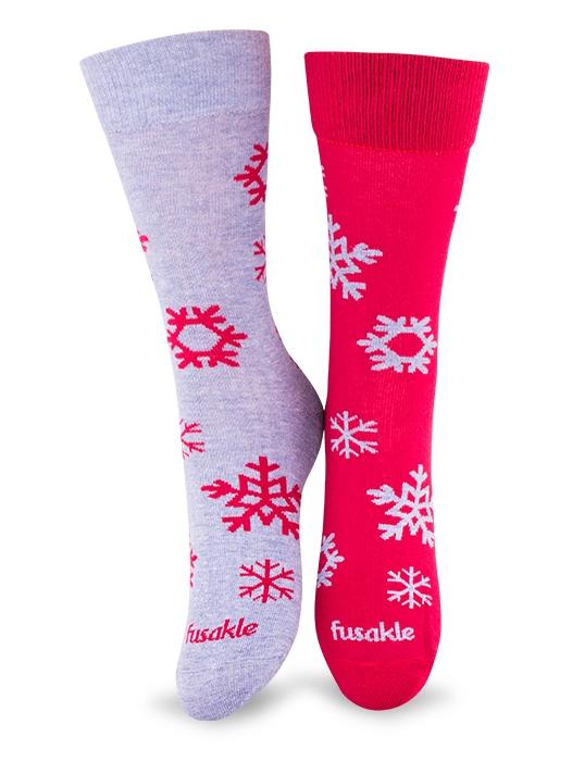 Fusakle ponožky pohoda zimná