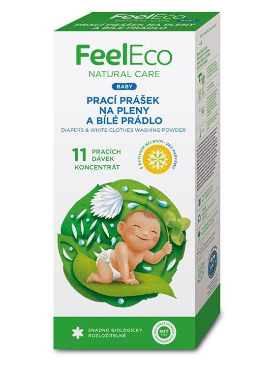 Feel Eco Prací prášok na plienky a biele prádlo BABY 660g
