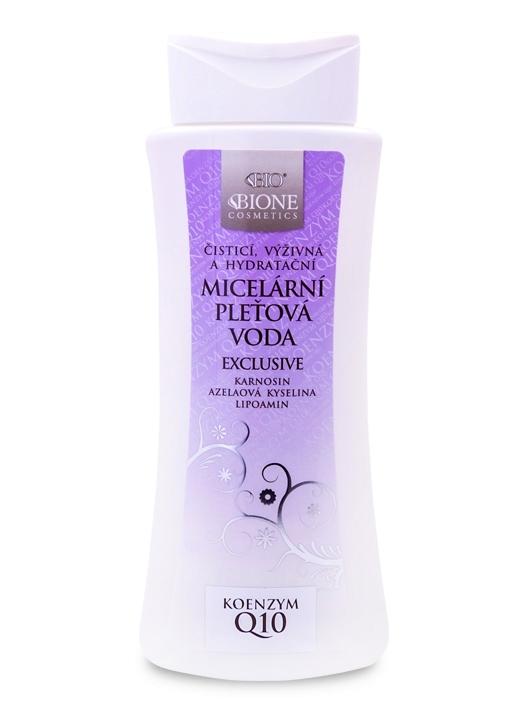 Bione Cosmetics - Micelárna pleťová voda EXCLUSIVE + Q10 255 ml