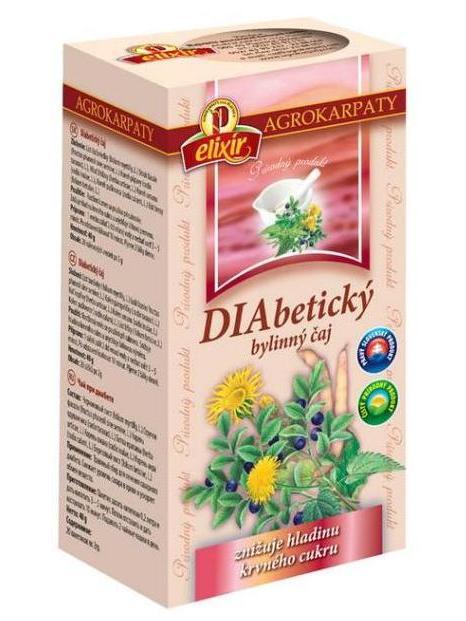 Agrokarpaty diabetický čaj 20x2g