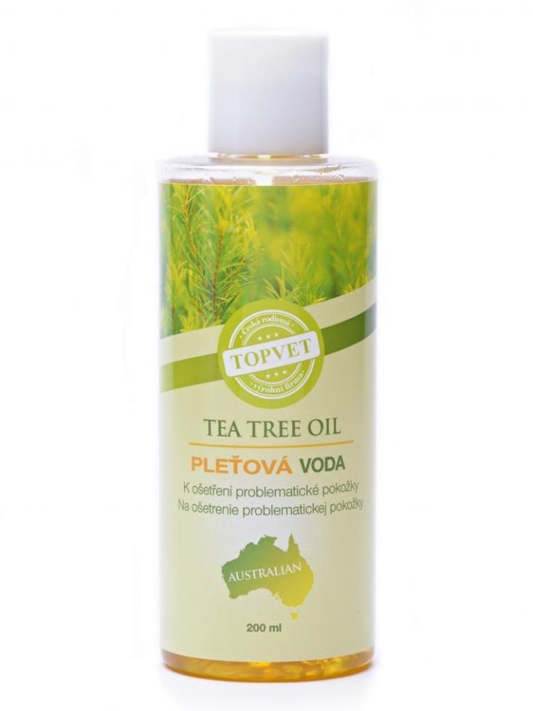 Topvet Tea tree oil Pleťová voda 200ml