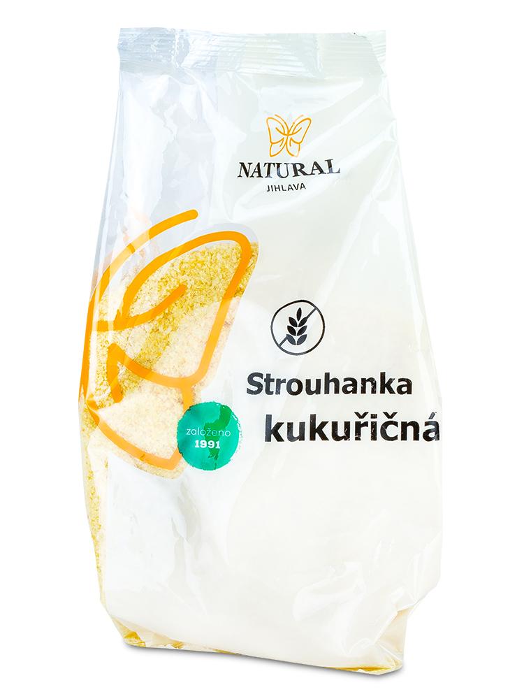 NATURAL JIHLAVA Strúhanka kukuričná 200g